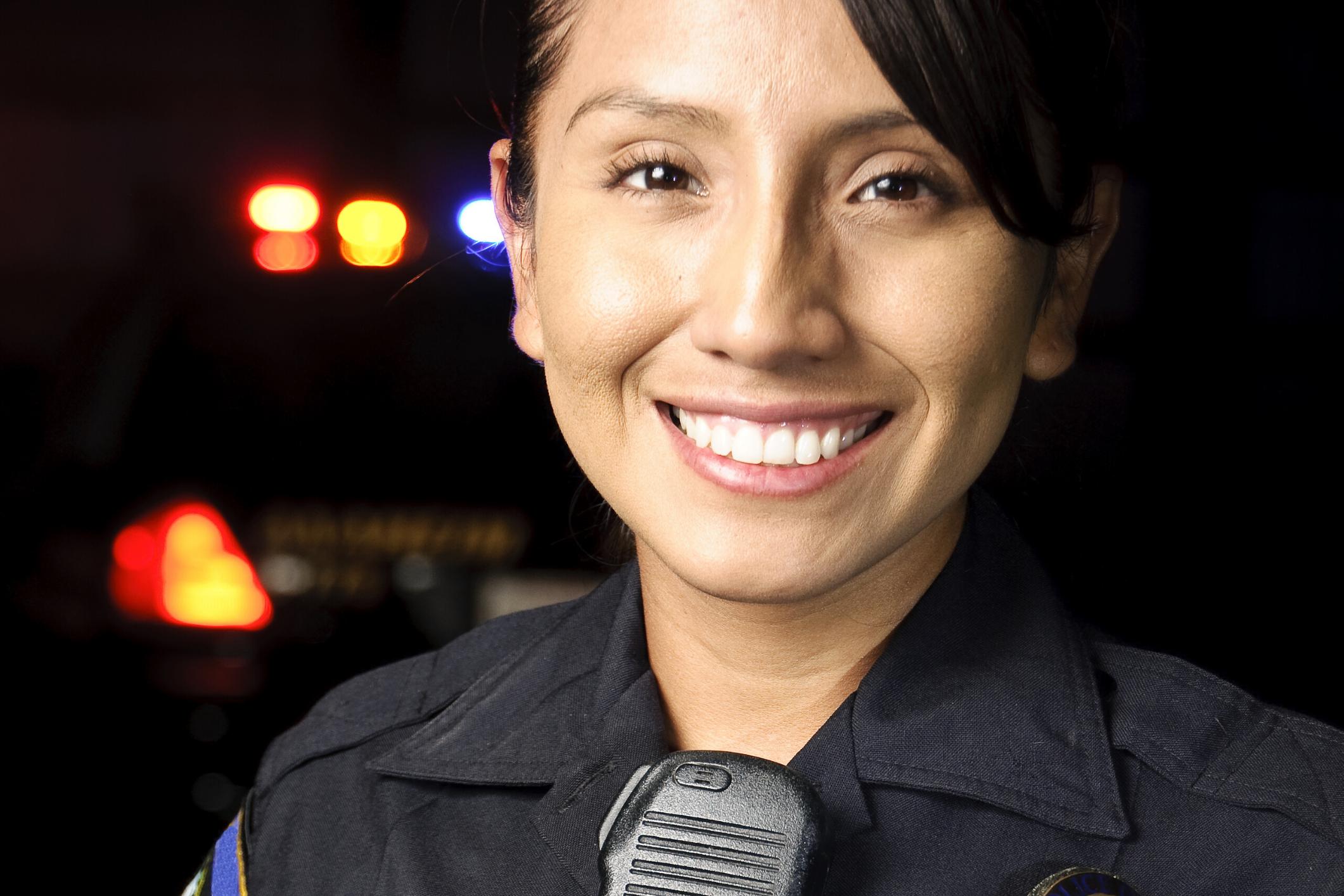 Good Female Police Officer-1