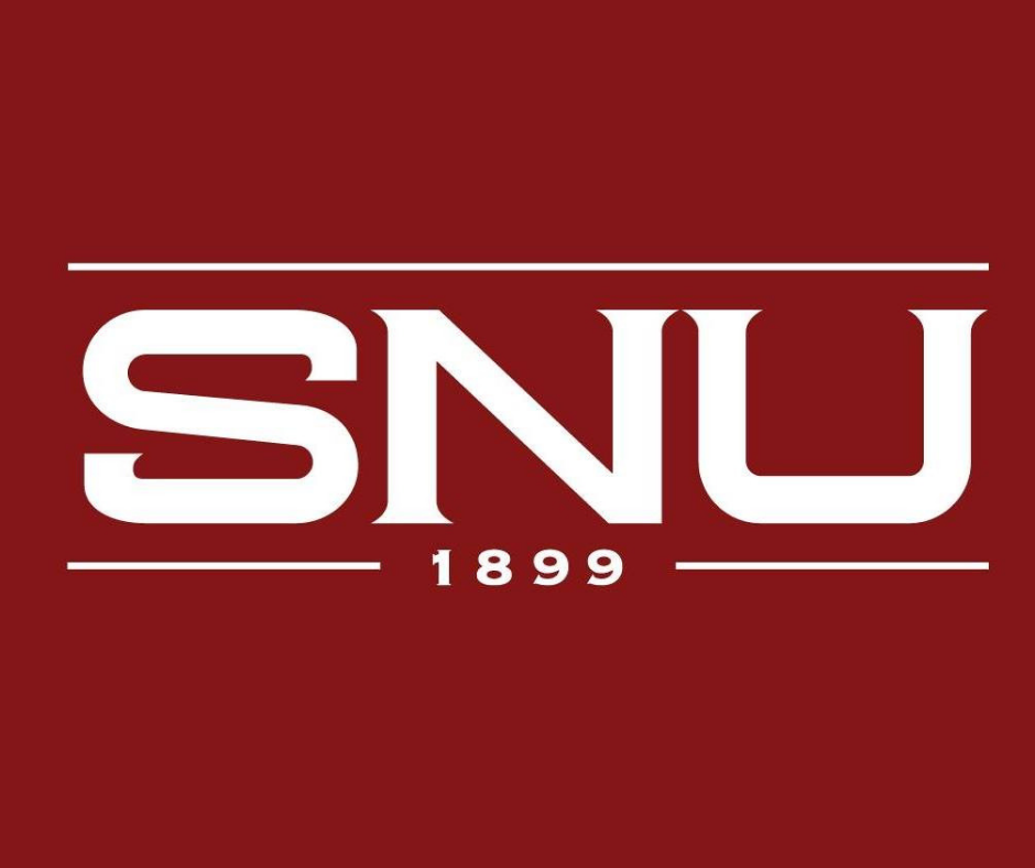 SNU initials logo with 1899