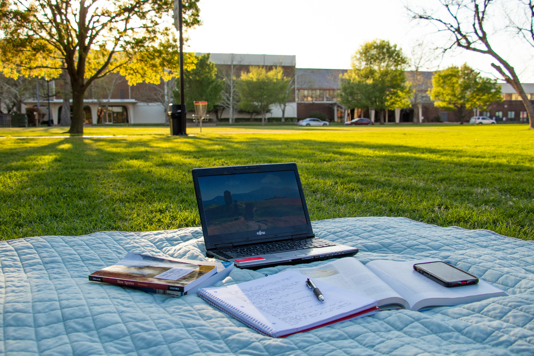 Laptop on SNU Campus