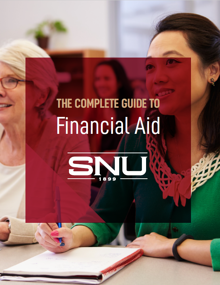 SNU - Financial Aid Guide Cover