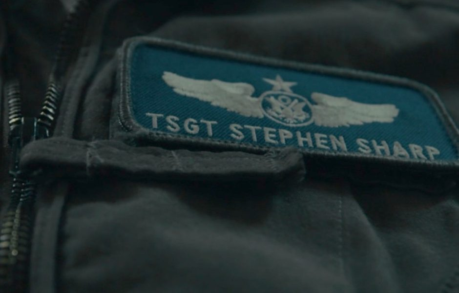 military uniform with name tag