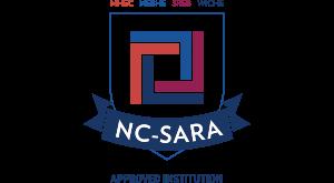 NC-SARA accreditation logo